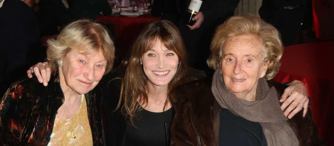 Photos- Carla Bruni-Sarkozy et Bernadette Chirac réunies