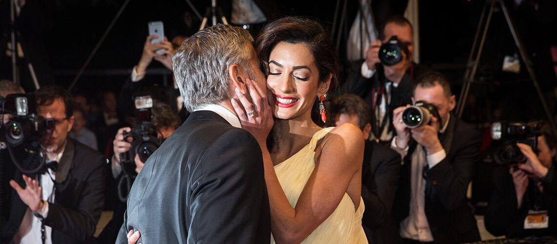 PHOTOS – Amal Clooney, enceinte et rayonnante, plaide devant les Nations Unies