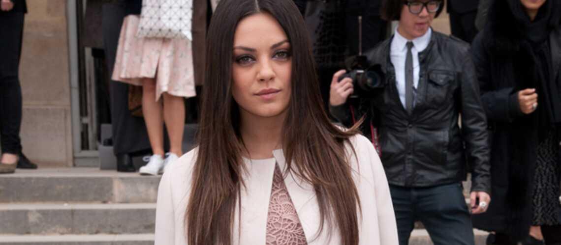 Mila Kunis, trop décontractée?
