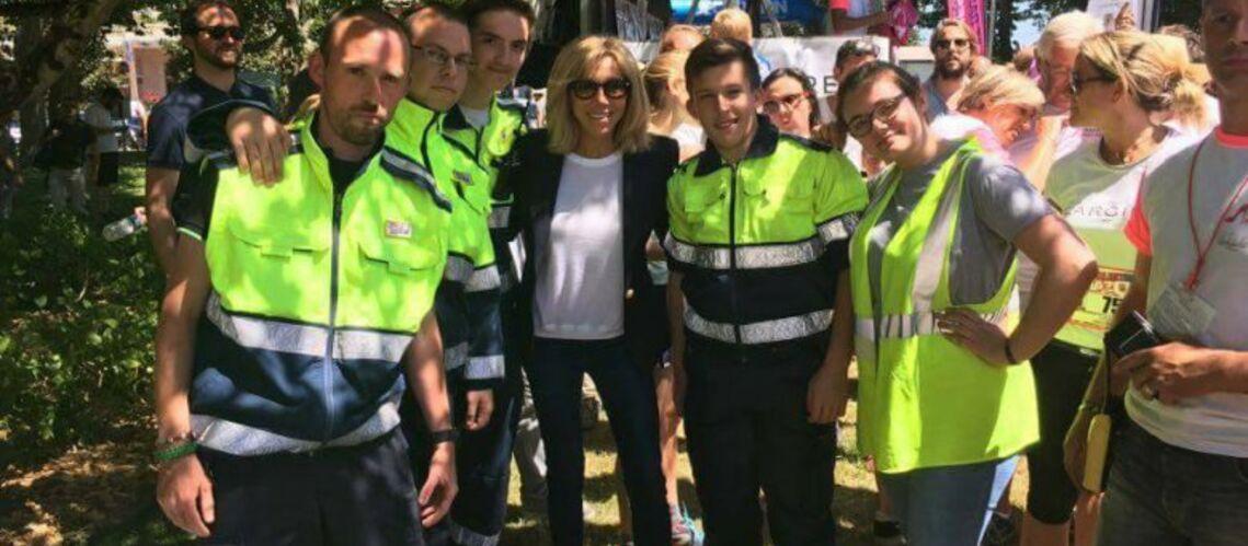 PHOTO – Brigitte Macron de retour au Touquet pour une cause qui lui tient à coeur
