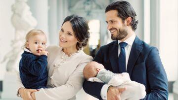 PHOTOS – Gabriel, le royal baby de Suède, volera-t-il la vedette à baby George?