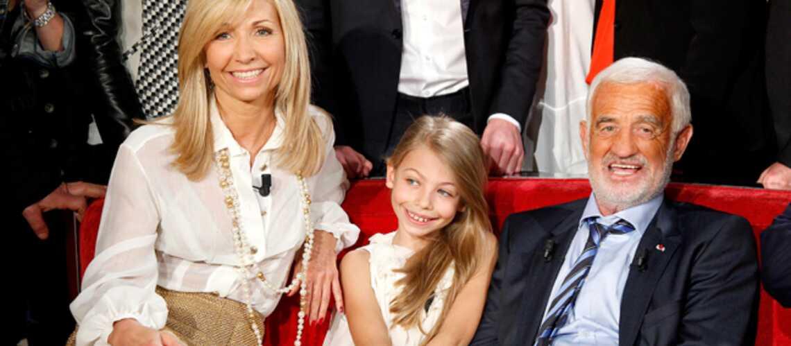 Jean-Paul Belmondo présente sa fille Stella