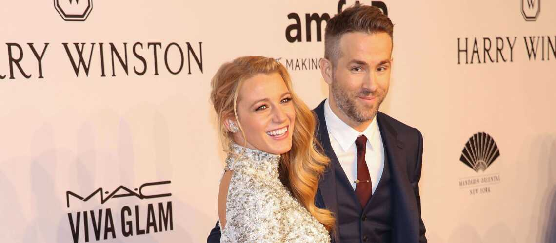 Blake Lively et Ryan Reynolds, couple glamour à l'amfAR