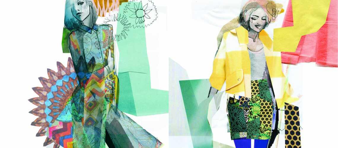 Desigual défile à la fashion week de New York