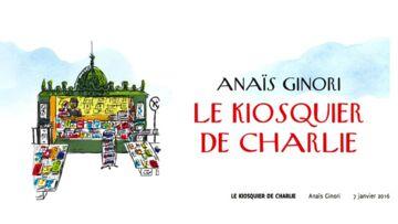 """""""Le kiosquier de Charlie"""": quand la petite histoire fait la grande"""