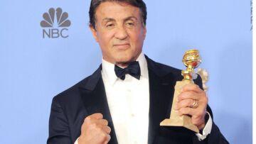 Golden Globes: Stallone emporté par l'émotion