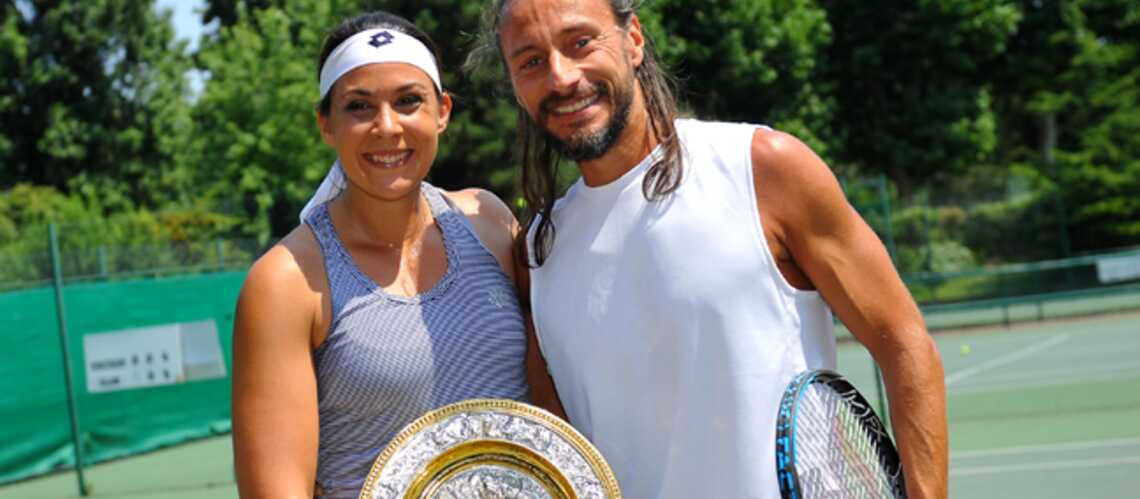 Photos- Marion Bartoli et Bob Sinclar refont le match