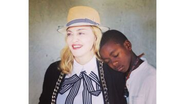 Madonna: En pèlerinage au Malawi avec son fils David