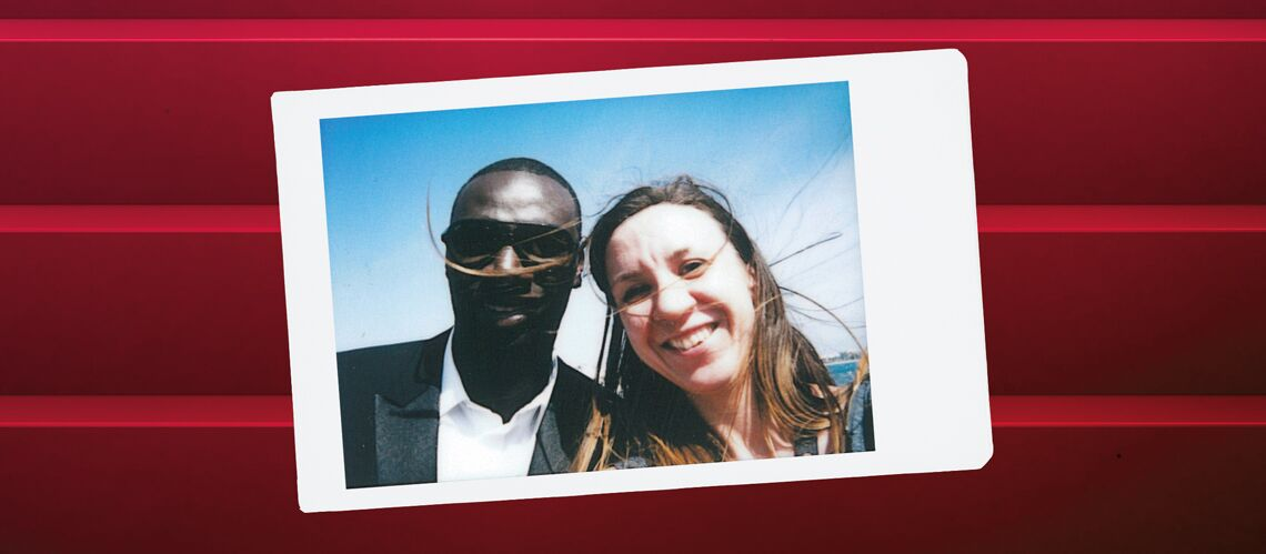 "Cannes Backs­tage by Instax – Le ""Red"" carpet d'Omar Sy"