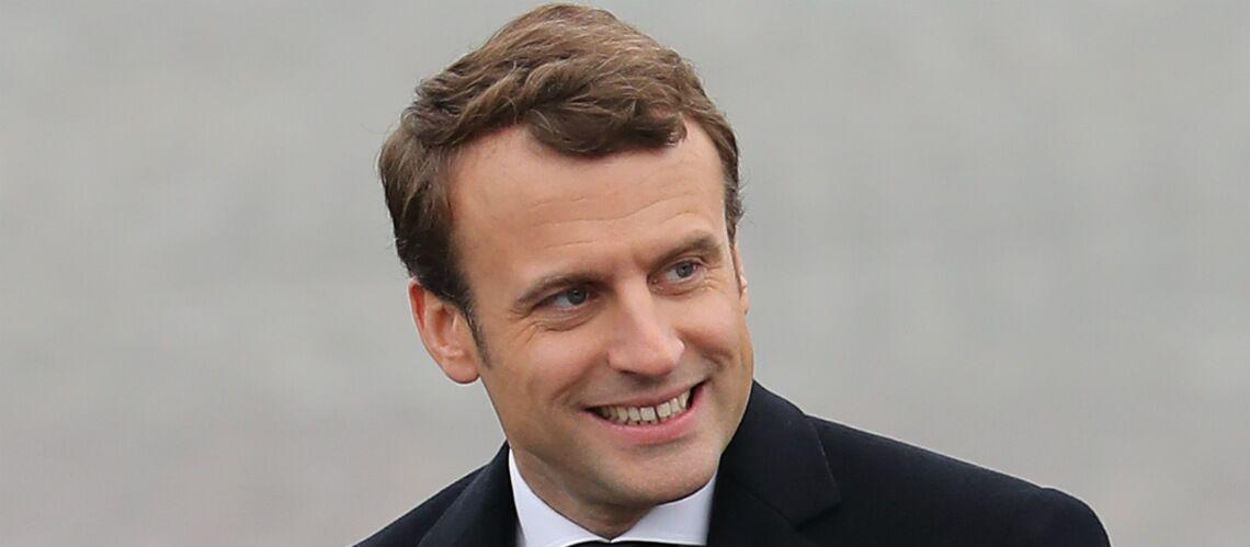 Pour se concentrer avant ses meetings, Emmanuel Macron pense à Johnny Hallyday
