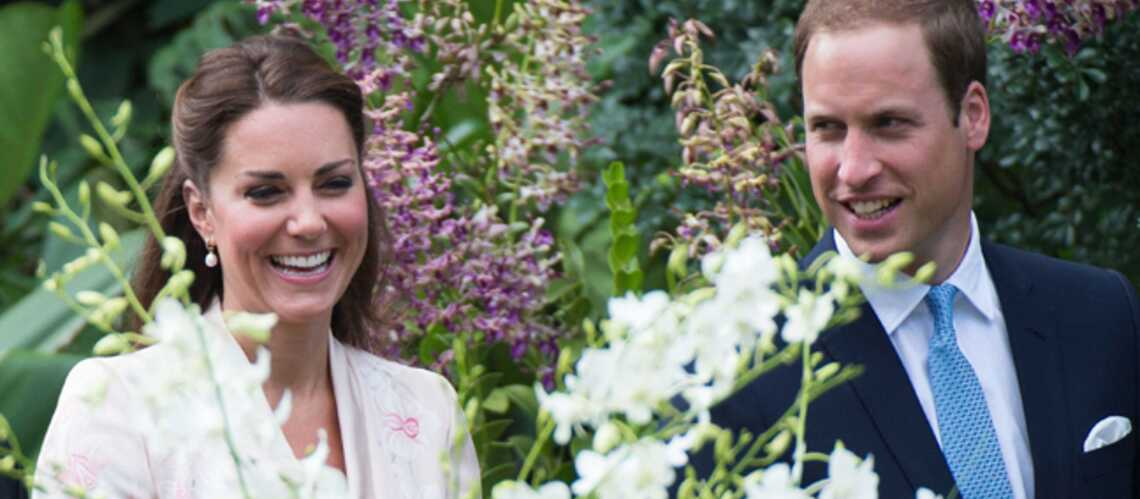 Photos – Kate et William: bons baisers de Singa­pour