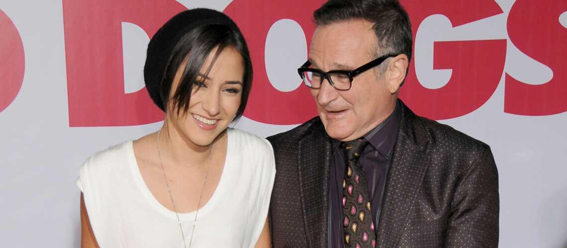 Mort de Robin Williams: sa fille Zelda pleure son père