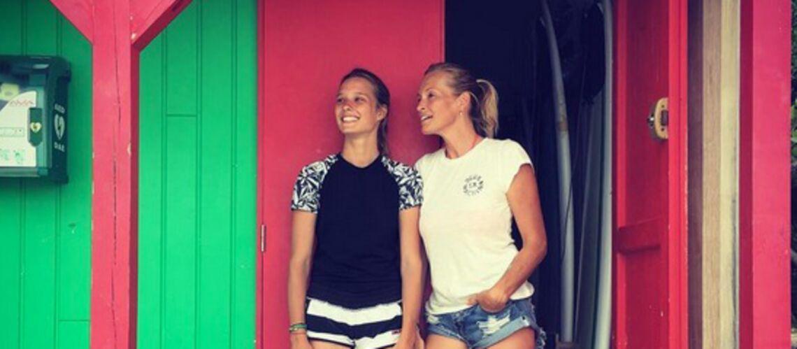 Photos: Estelle Lefébure et Ilona Smet, un beau duo de surfeuses
