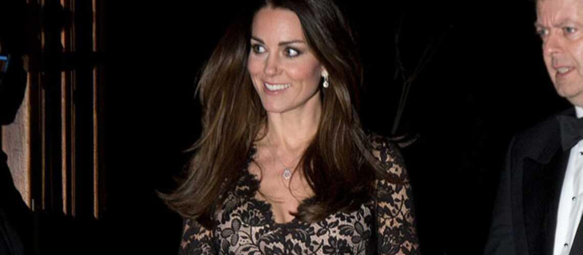Kate Middleton recycle sa dentelle
