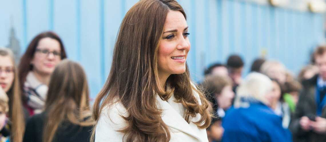 Princesse Kate, un baby bump en blanc