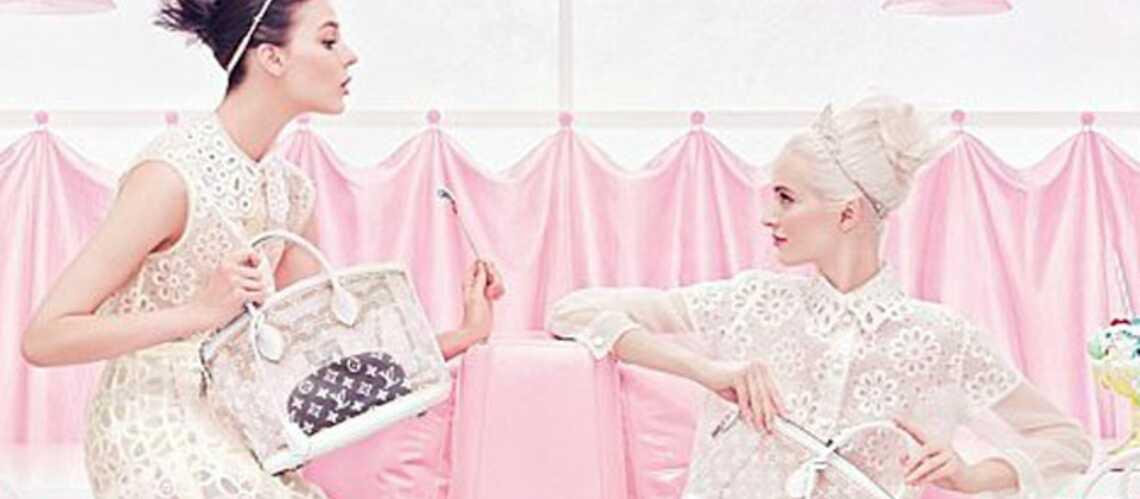 Jeunes filles sucrées chez Louis Vuitton