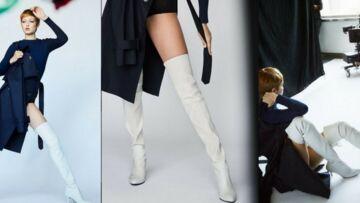 PHOTOS – Gigi Hadid: sa pixie cut dans la nouvelle campagne Stuart Weitzman