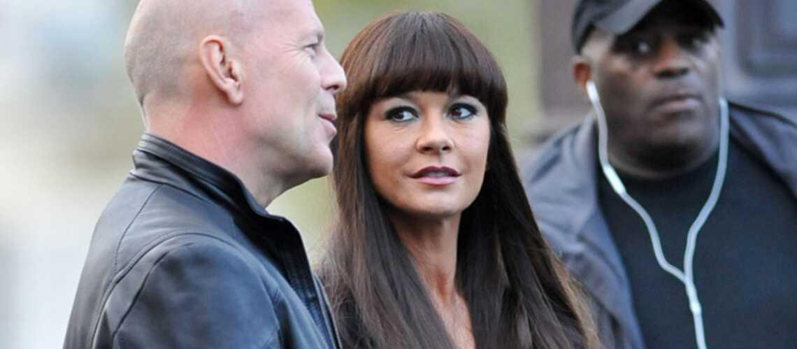 Photos- Love story parisienne pour Bruce Willis et Catherine Zeta-Jones