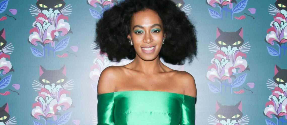 Pour ou contre: le maquillage vert de Solange Knowles