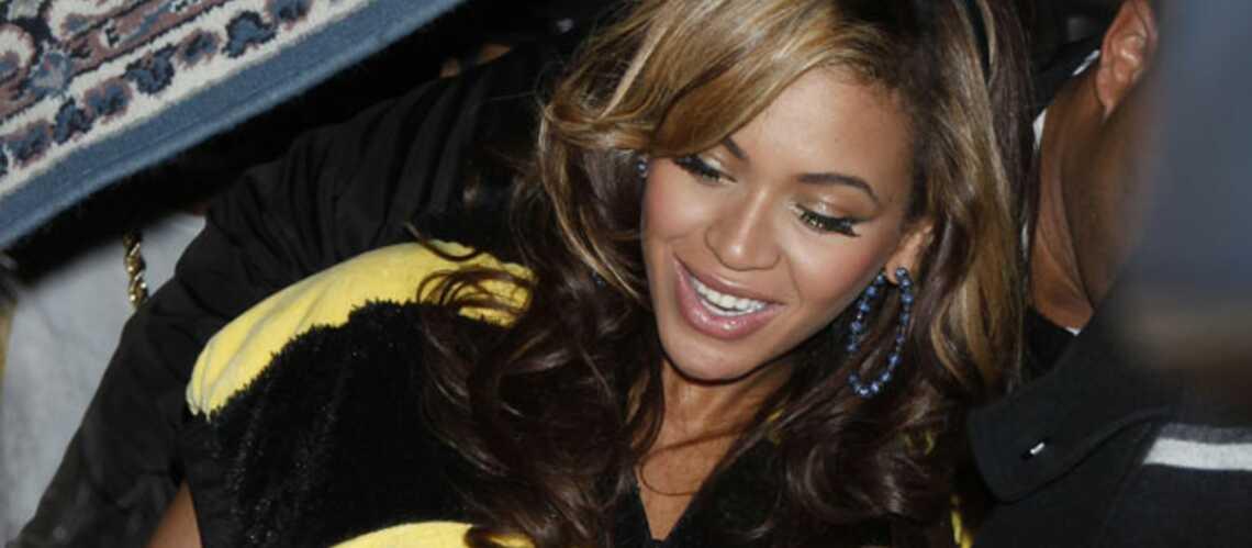 Beyoncé bourdonne de plaisir