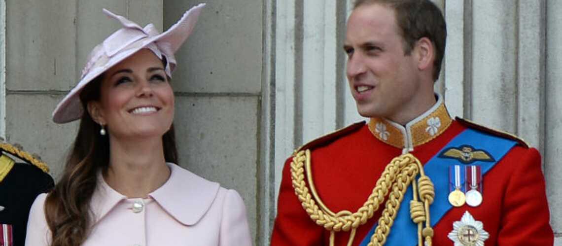 Le Prince William aux côtés de Kate