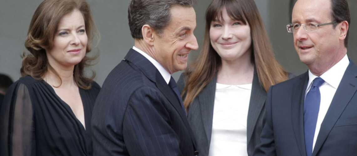 Carla Bruni et François Hollande totalement Free
