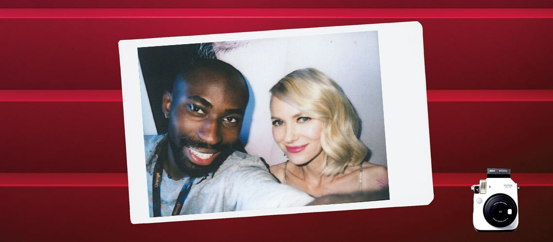 Cannes Backs­tage by Instax – Naomi Watts, l'élé­gance incar­née