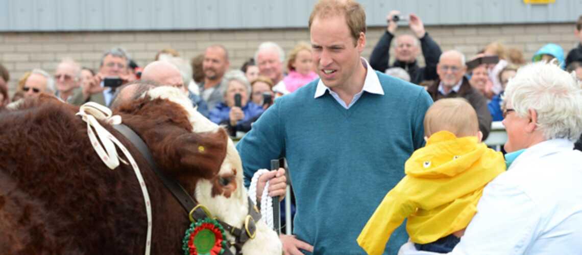 Photos- Prince William: heureux et bavard à propos du prince George