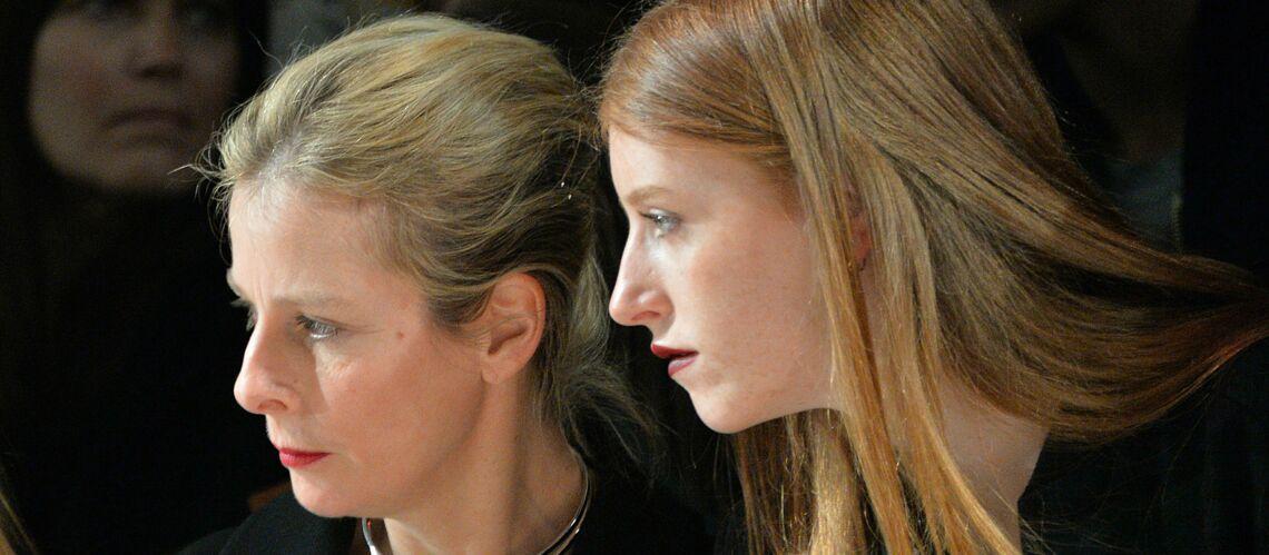 PHOTOS – Karin Viard présente ses adorables filles Simone et Marguerite