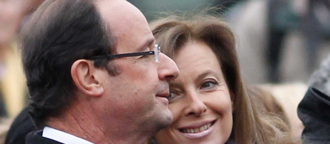 Valérie Trierweiler a regardé François Hollande à la télévision