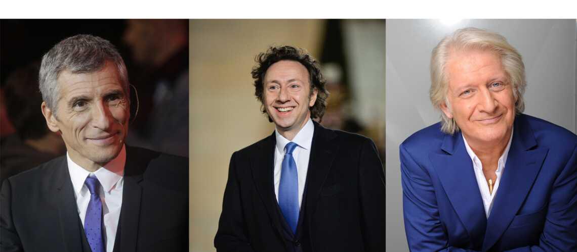 Nagui, Stéphane Bern et Patrick Sébastien: liés par le destin