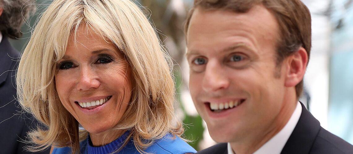 """Brigitte Macron, une première dame """"intellectuellement à la hauteur"""""""
