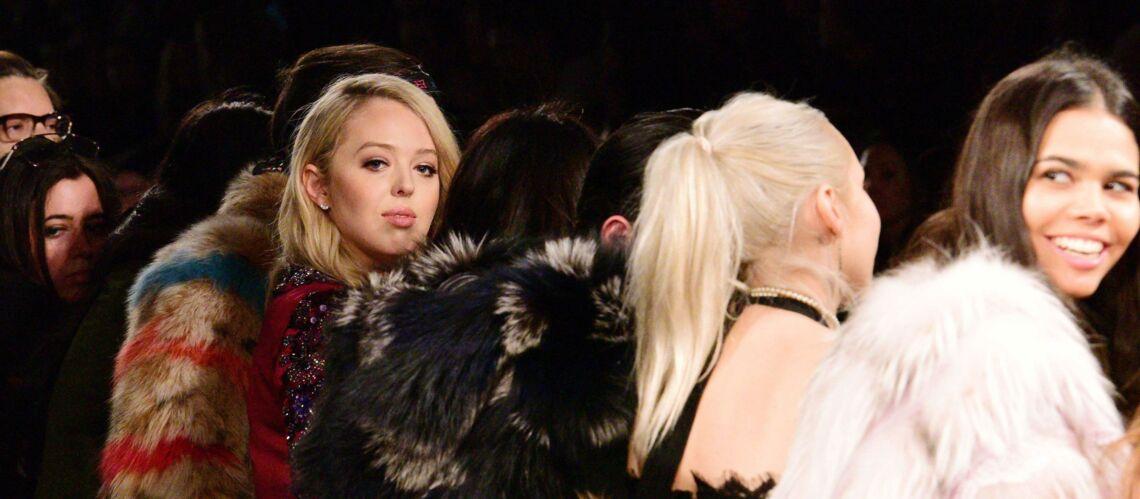 Tiffany Trump assiste à un défilé à la Fashion week de New York et fait fuir tous les invités