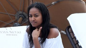 PHOTOS – Sasha Obama: la fille de Barack Obama, glamour et sexy en robe-nuisette, elle nous inspire!