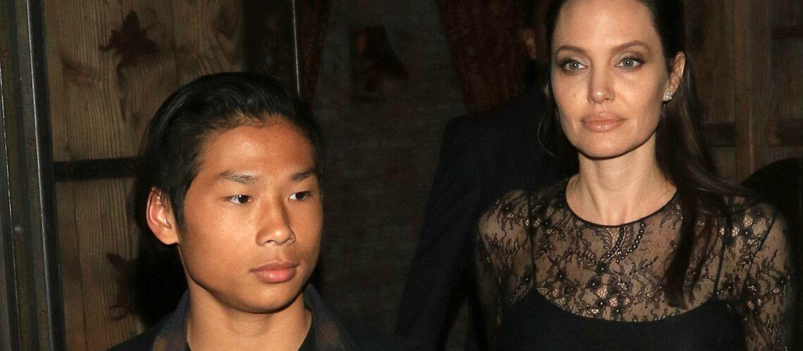 PHOTOS – Angelina Jolie seule depuis son divorce, heureusement Pax est là