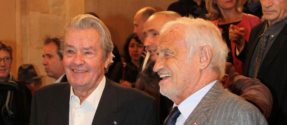 Jean-Paul Belmondo et Alain Delon se retrouvent au siège de la Police Judiciaire