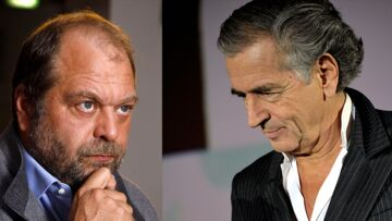 PHOTO – Entre l'avocat Eric Dupont-Moretti et Bernard-Henri Lévy le torchon brûle