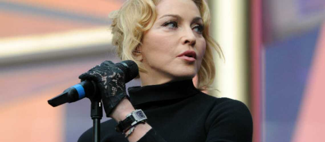 Madonna bannie d'une chaîne de cinéma