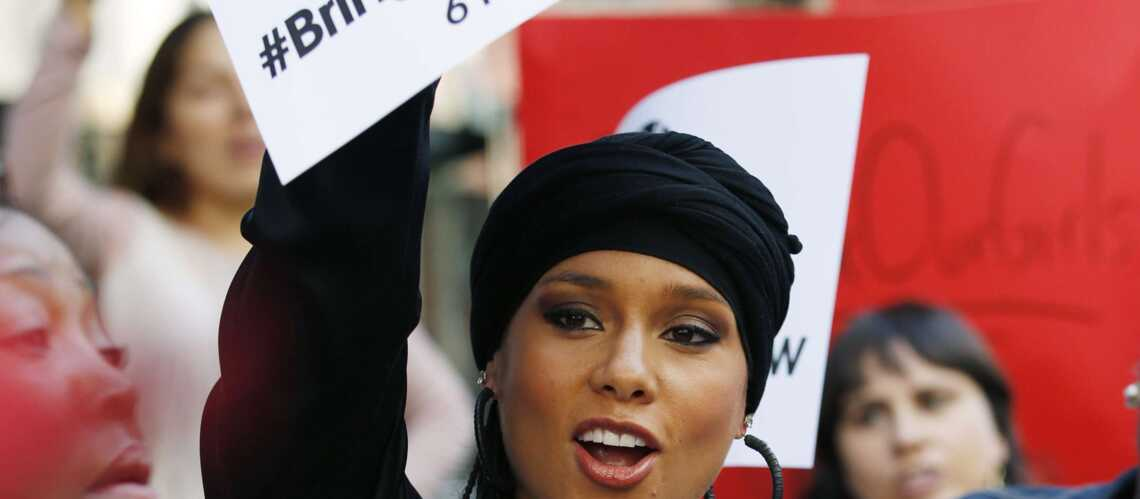 Alicia Keys se mobi­lise pour Bring Back Our Girls