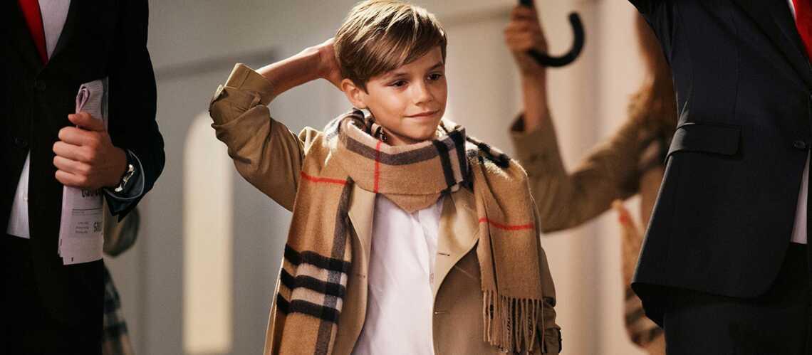 Romeo Beckham au cœur de la stratégie Burberry