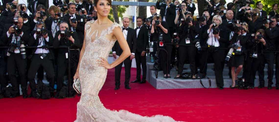 Eva Longoria, Diane Kruger, Jessica Chastain: premier tapis rouge à Cannes