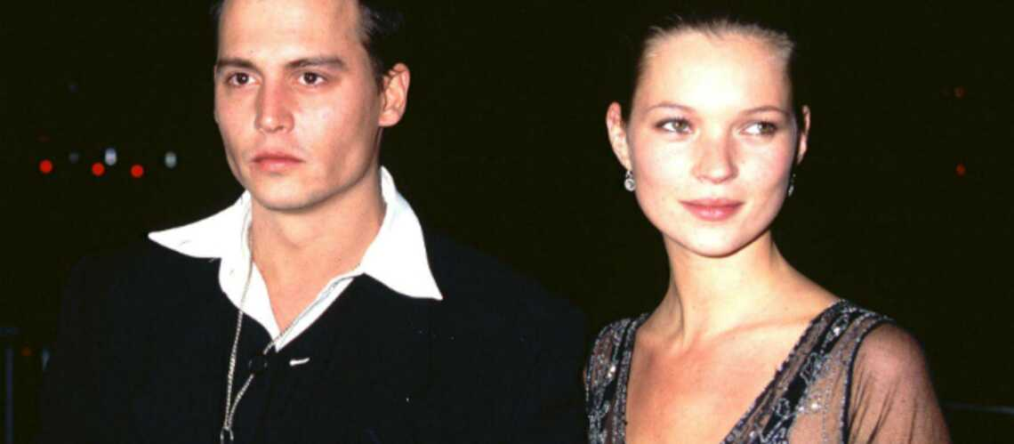 Johnny Depp et Kate Moss réunis