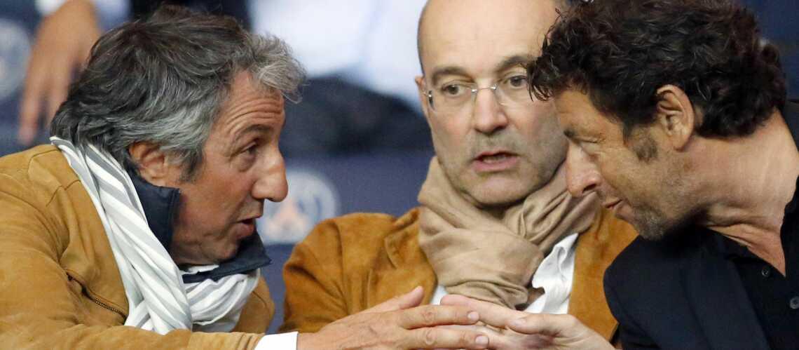 Patrick Bruel, Richard Anconina, Nicolas Sarkozy: fidèles supporters du PSG