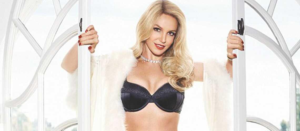 Britney Spears, corps de rêve et jolies dentelles