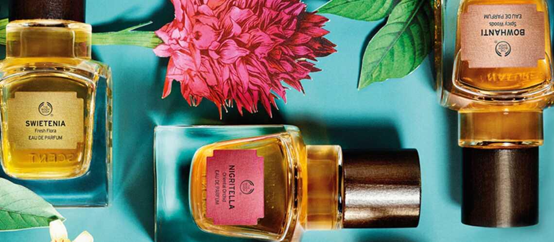 The Body Shop dévoile 5 fragrances rares et précieuses