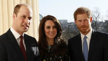 PHOTOS – Harry, Kate et William unissent leurs forces pour la bonne cause