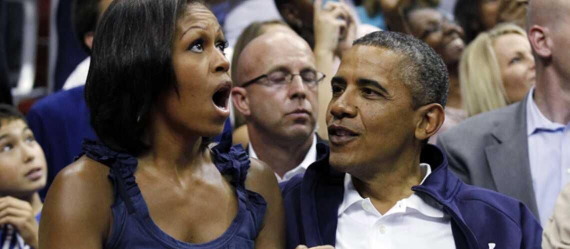 Photos- Barack Obama, fan de basket, de sa fille, et de sa First Lady