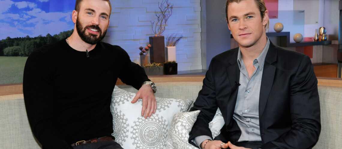 Chris Hemsworth et Chris Evans se livrent au sujet d'Avengers: Age of Ultron