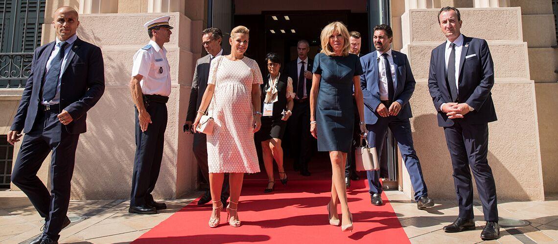 Les jambes de Brigitte Macron n'en finissent pas de faire jaser