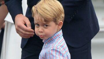 PHOTOS – le prince George intimidé et recadré par son père, l'image qui attendrit la presse anglaise